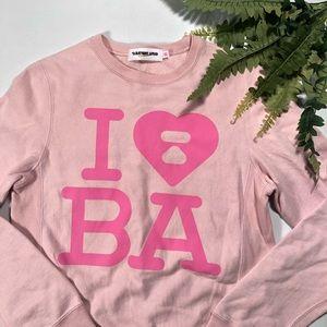 A Bathing Ape I Heart BAPE Crewneck Sweatshirt
